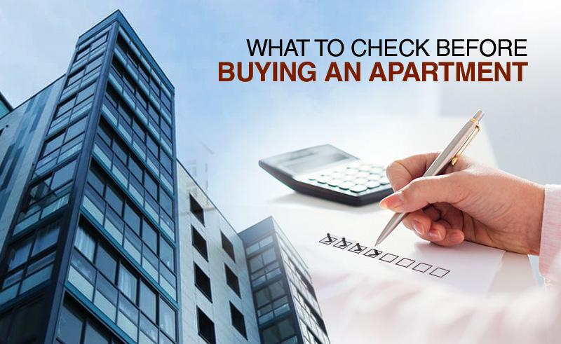 apartment buying checklist
