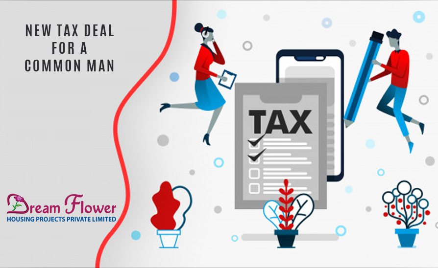 Common Man's New Tax Deal in India
