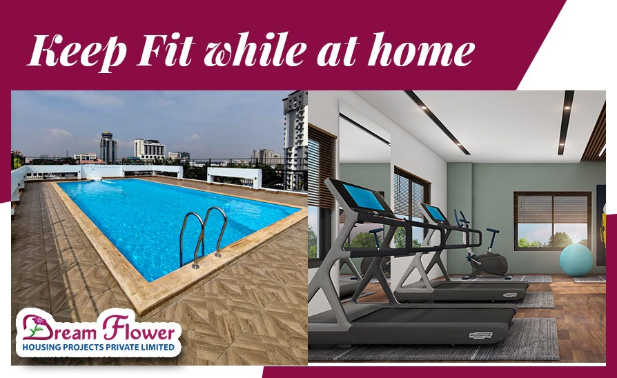 Keep fit while at home
