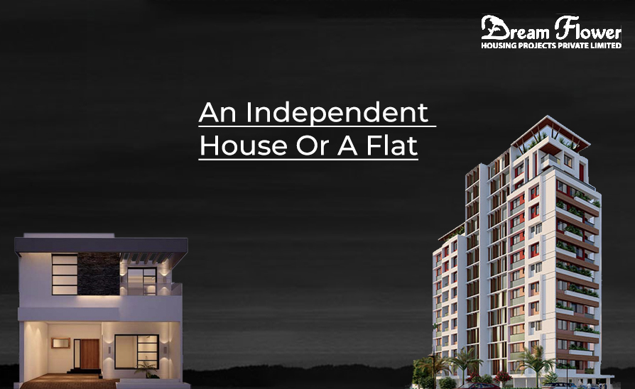An independent house or a flat (1)