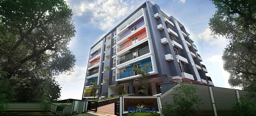 luxury apartments Kalamassery,
